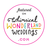whimsical wonderland weddings - wedding photographer blog