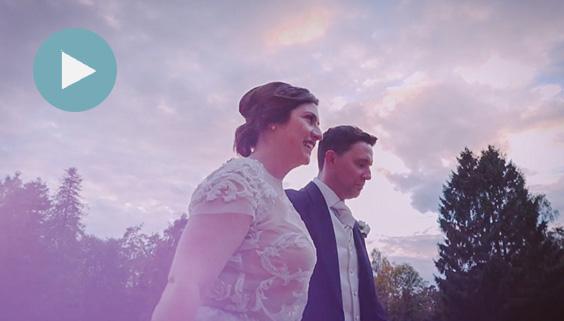 joe and lou wedding entrance